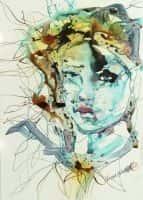 Blue gaze | Verena Waddell